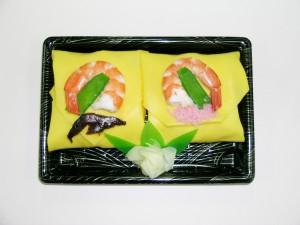 親王飾り寿司 650円(税込)